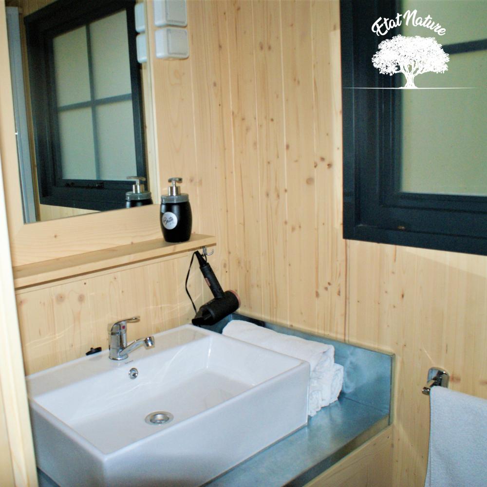 Gîte insolite avec salle de bains, jusqu'à 7 personnes - Etat Nature