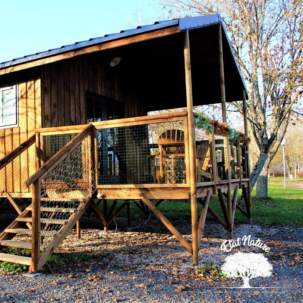 cabane de pêcheur - hébergement insolite - logement insolite - Etat nature
