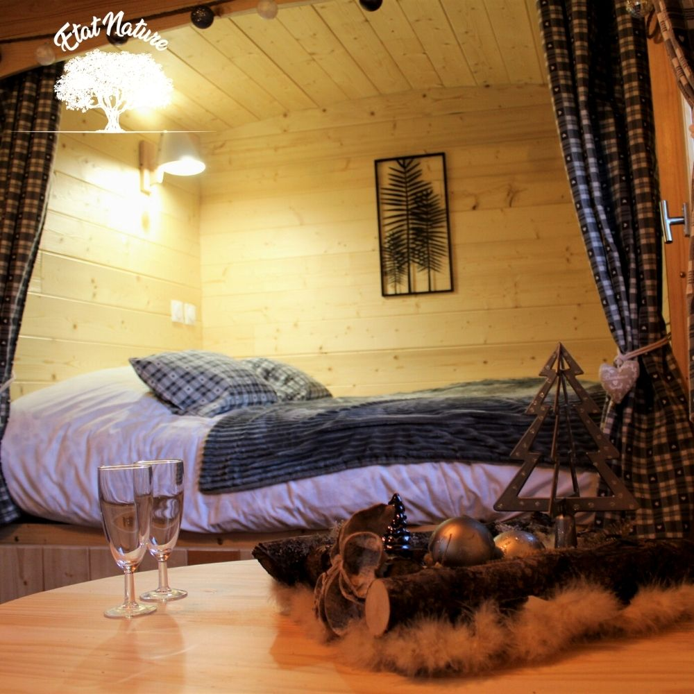 nuit insolite romantique - roulotte insolite - roulotte lorraine