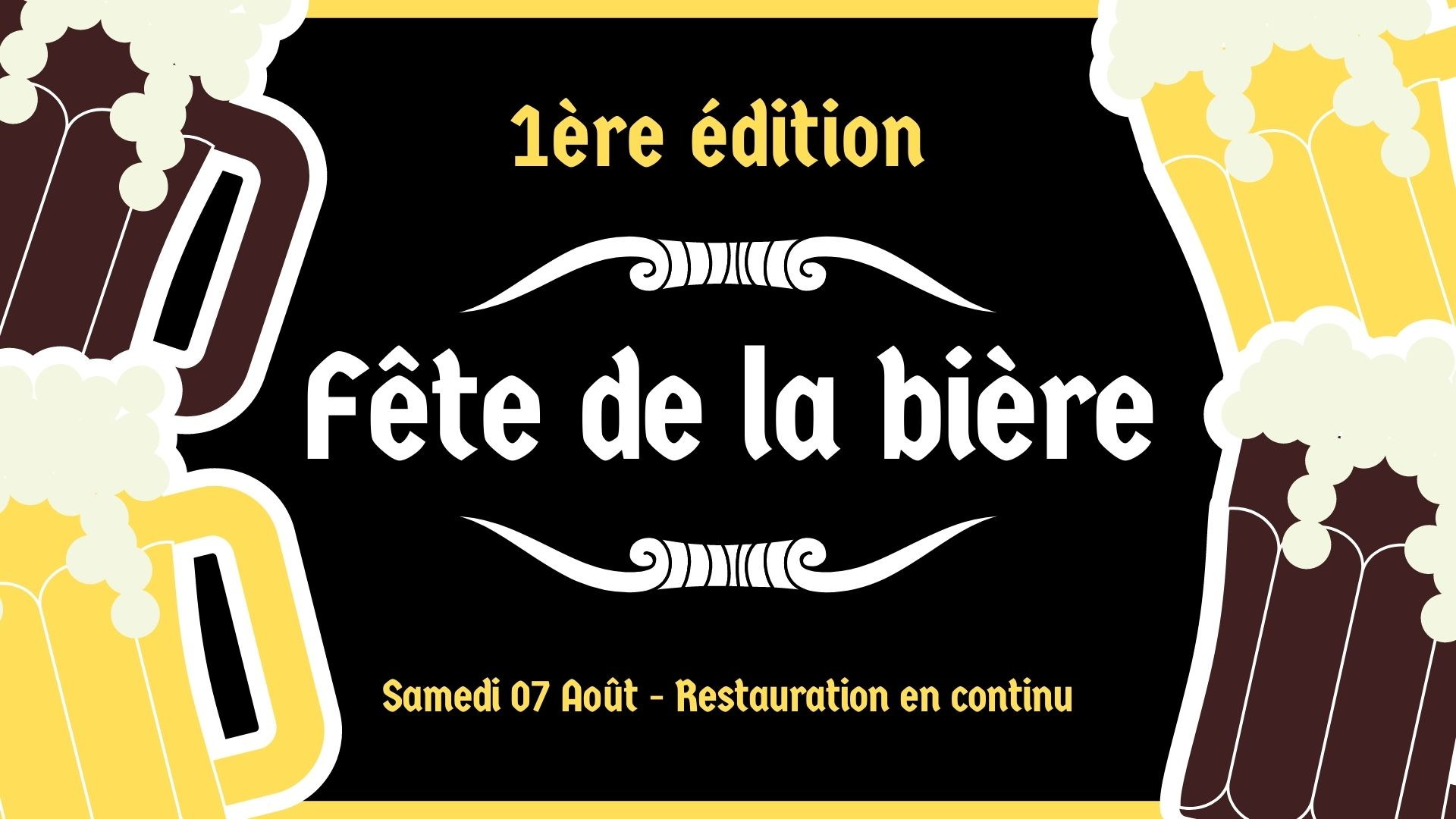Fête de la bière à Magnières - Guinguette à l'Abreuvoir d'Etat Nature