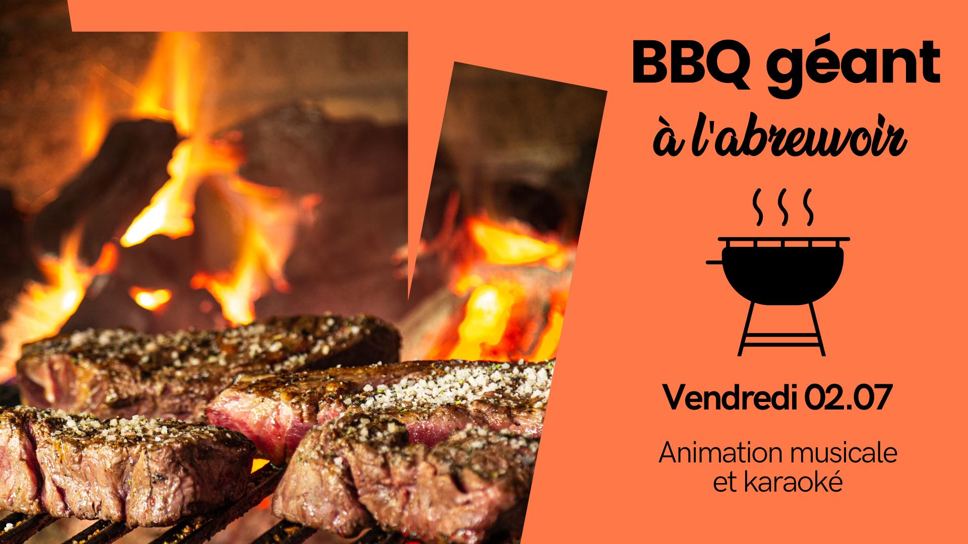 Soirée barbecue et karaoké à l'Abreuvoir, guinguette Etat Nature