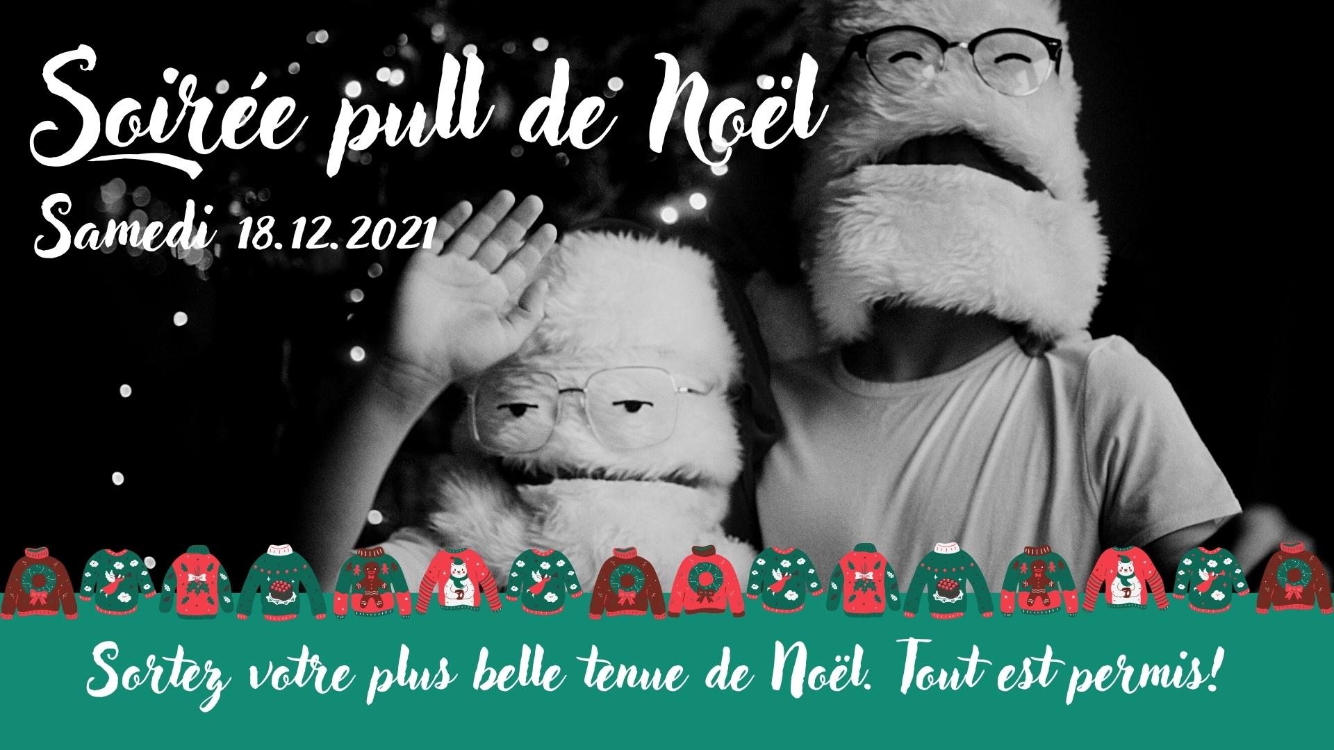 Soirée pull de Noël à l'Abreuvoir de Magnières (54)